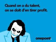 onepoint-hiring - The Dark Knight rises